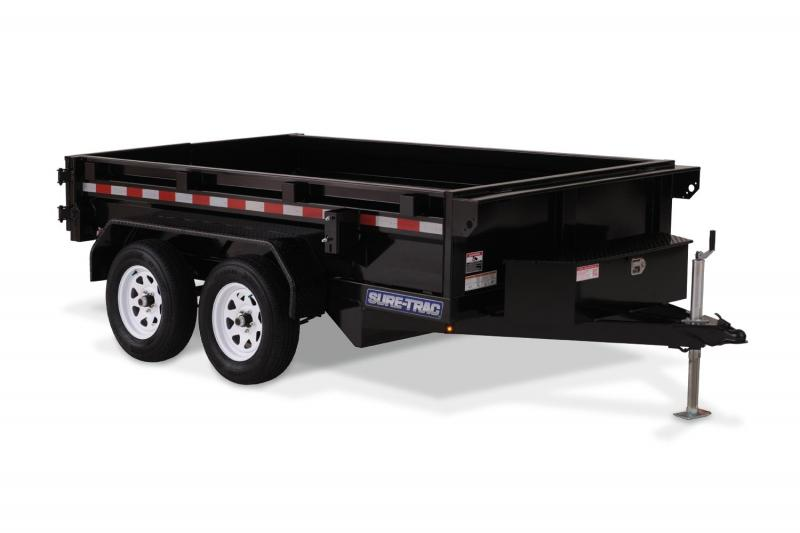 2019 Sure-Trac 62x8 Utility Dump Trailer