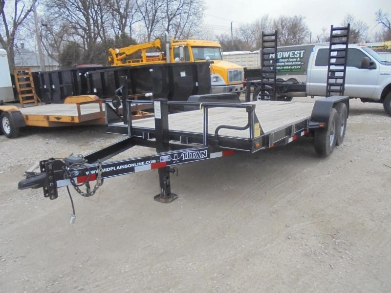 2010 Titan Trailers 102x16 DO Industrial Equipment Trailer