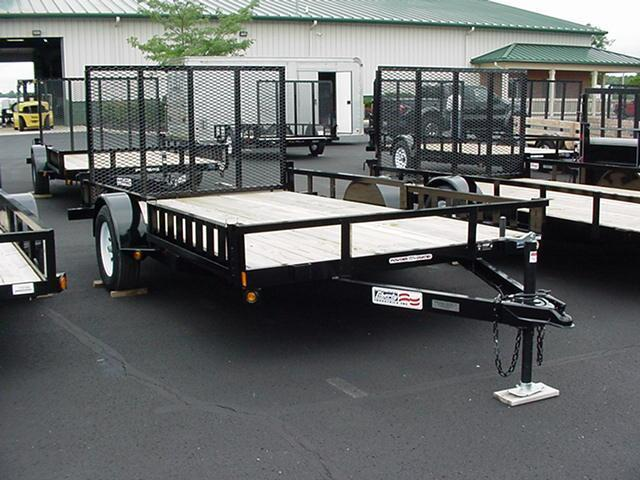 Liberty SA 82 x 12  Channel Frame Utility w/ ATV & Mesh Ramp