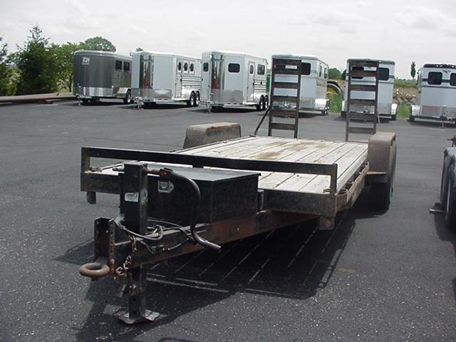 2015 Griffin CFT 20'EQ Equipment Trailer