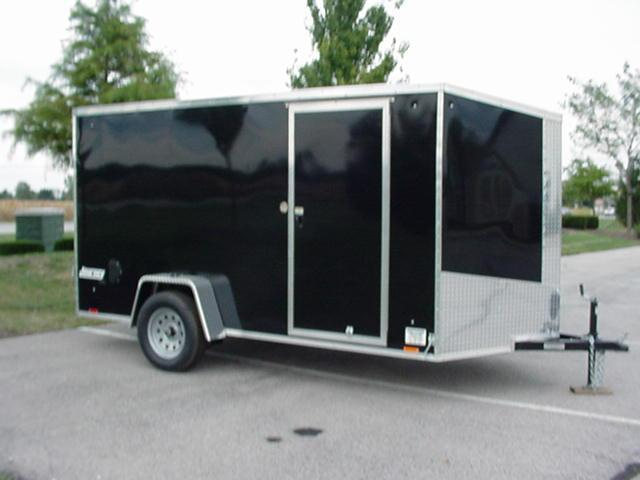 Pace american journey se 6 39 x 10 39 v nose w ramp for 6x12 wood floor trailer
