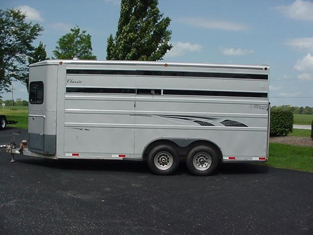 1999 Titan 4H Straight Load Combo w/ Mangers Ramp