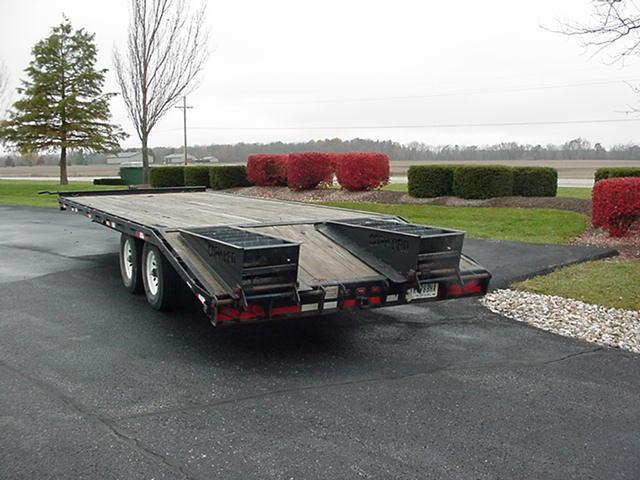 2006 CornPro 20+5 14K  BP Flatbed Equipment Trailer