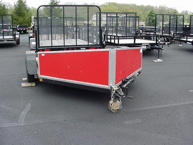 "2012 Nomanco One or Two Bike  Motorcycle Trailer 80"" x 9"