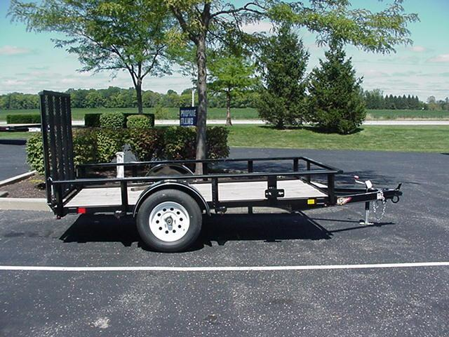 2019 H and H Trailer H6610RS-030 Utility Trailer