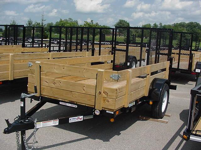 Wood Flatbed Trailer ~ Utility trailers tow dollies northside trailer sales