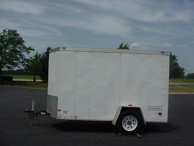 2012 Haulmark Transport TSTV 6' x 10' Enclosed Cargo Trailer