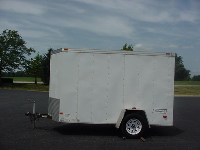 2012 Haulmark Transport TSTV 6' x 10' Enclosed Cargo Trailer