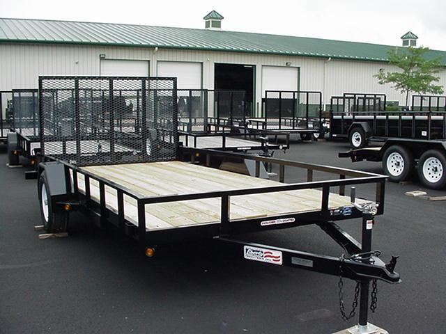Liberty SA 82 x 12  Channel Frame Utility w/ Mesh Ramp