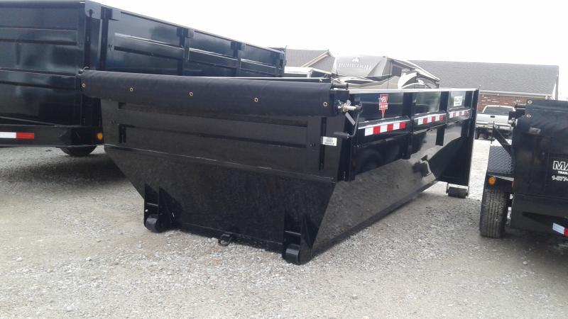2020 PJ Trailers Roll Off Dump Bin Dump Trailer