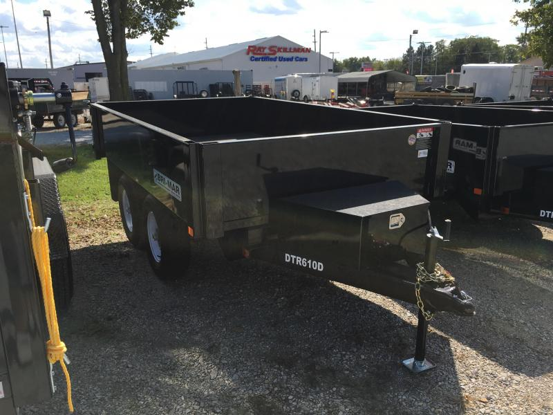 2018 72x10 Bri-Mar DTR610D-10 Dump Trailer - (One Piece Gate)(GVW: 9990) *DECKOVER*