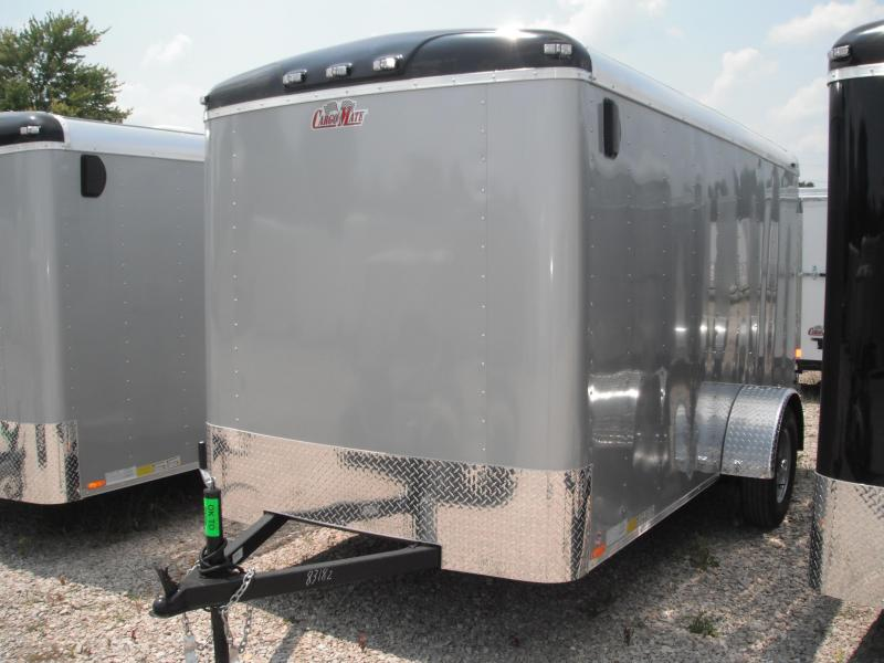 2015 6x12 Cargo Mate BL612SA Cargo / Enclosed Trailer - Diamond Ice (DD)