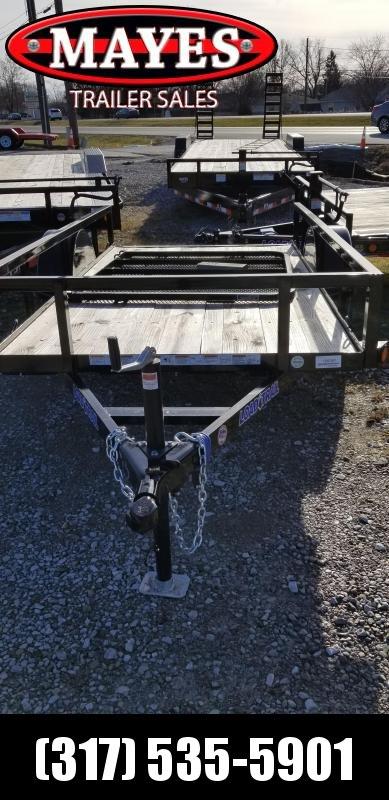 2018 5x10 Load Trail SA101 Single Axle Utility Trailer - w/ 4' Fold-up Gate (GVW: 2995)