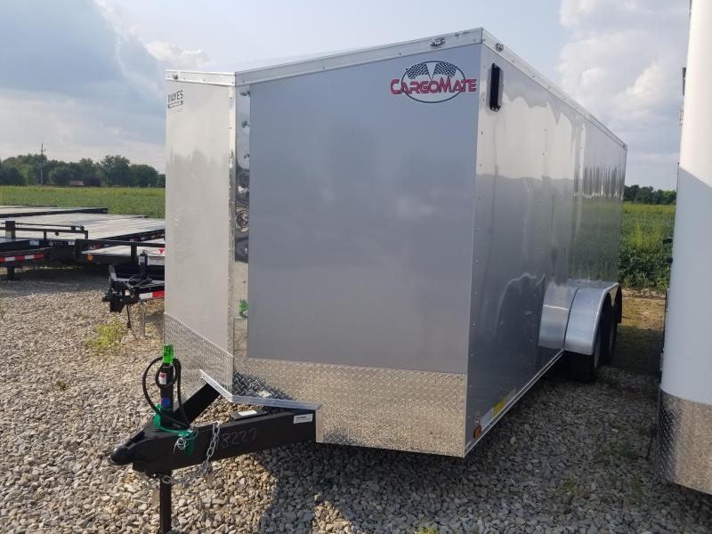 2019 7x18 Cargo Mate EHW718TA2 Enclosed Cargo Trailer - Diamond Ice (RD)(GVW: 7000)