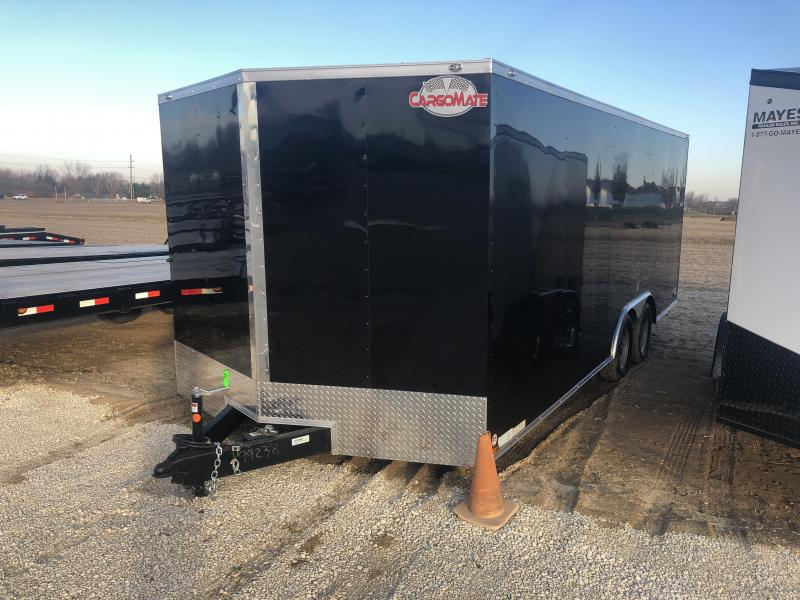 2019 102x20 Cargo Mate EHW8.520TA2 Enclosed Cargo Trailer - Ramp Door - Side Door (GVW:  7000#)
