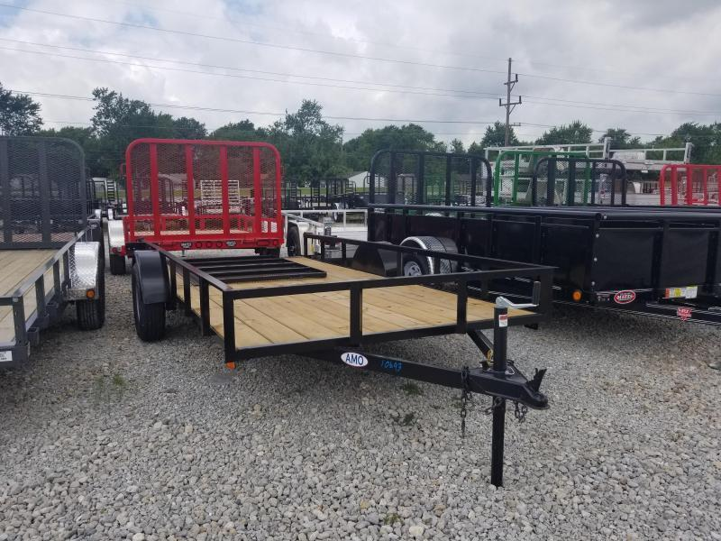 2019 76x14 American Manufacturing Operations A614GN Utility Trailer - w/ 4' Gate (GVW: 2990)