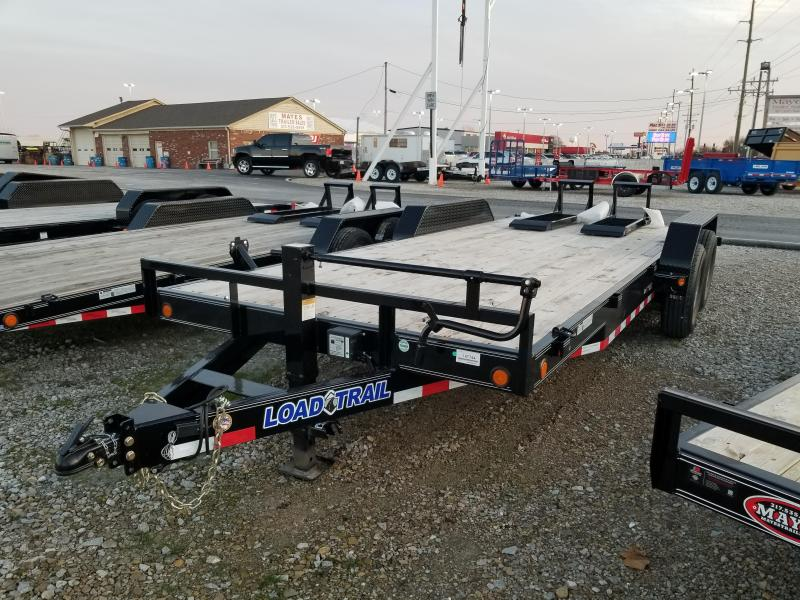 2018 83x20(18+2' Dovetail) Load Trail CH83 Equipment Trailer - w/ 5' Fold-up Ramps (GVW: 14000)