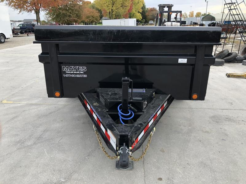 2020 83x12 TA Load Trail DT8312072 Dump Trailer - 3-Way Gate - Slide-In Ramps - Scissor Hoist - Solar Panel Charger (GVW:  14000)