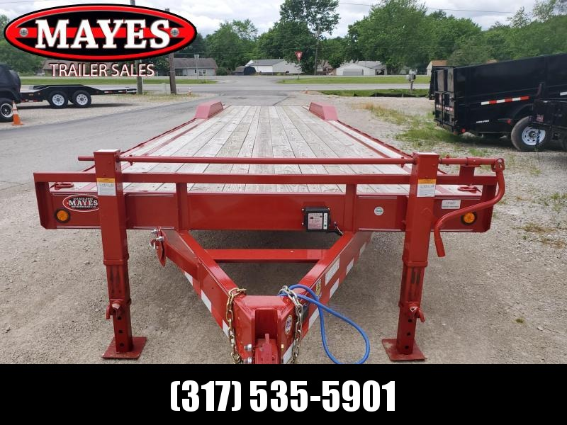 2019 102x36 Triple Axle PJ Trailers CH023607317668 Equipment Trailer - Slide In Ramps