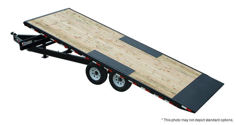 2020 22' Full Tilt PJ Trailers 22' Deckover Tilt Trailer - Spare Tire MOUNT ONLY (GVW:  14000)