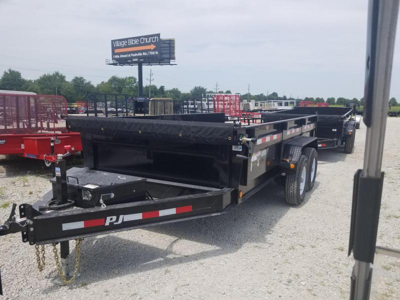 2019 83x14 PJ Trailers DL Low Pro Dump Trailer - (Tarp Kit)(GVW: 14000)