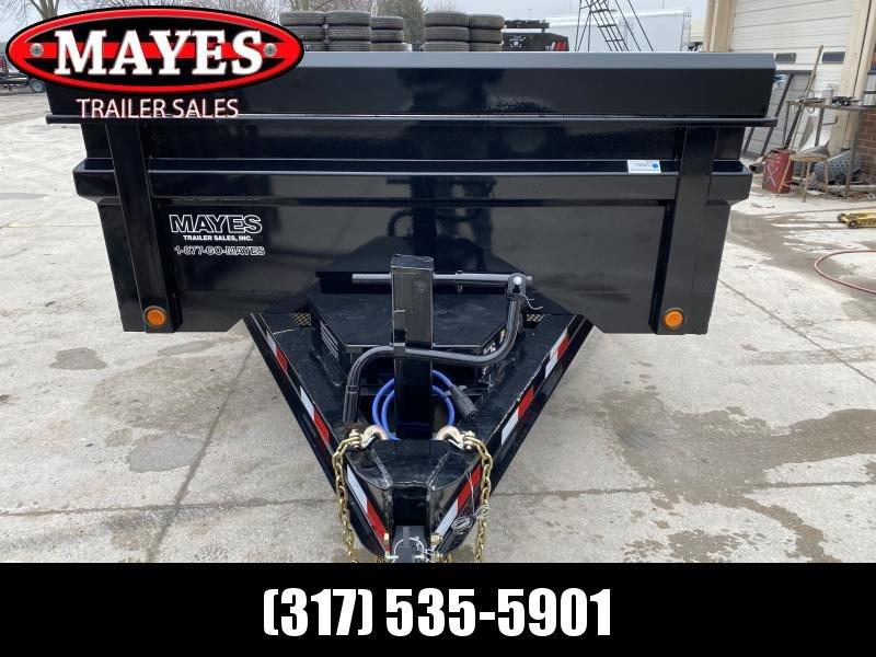 2020 83x14 TA Load Trail DT8314072 Dump Trailer -Tarp Kit - Rear Slide In Ramps - 3-Way Gate - Scissor Hoist (GVW:  14000)