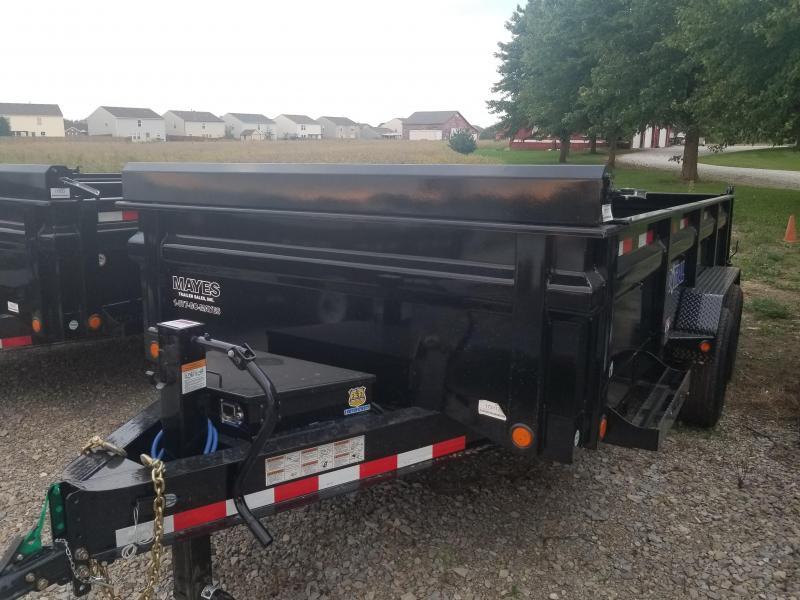 2019 83x16 Load Trail DT16 Dump Trailer - (Tarp Kit)(Split/Spreader Gate)(GVW: 14000)