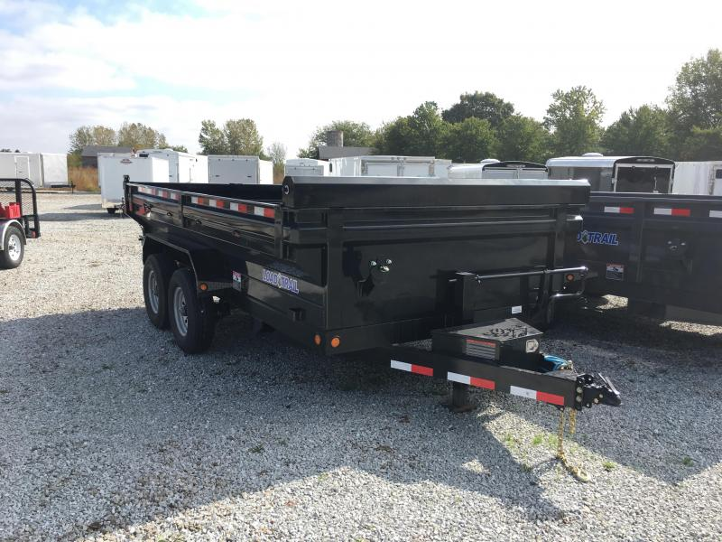 2018 83x14 King Size Load Trail DT14 Dump Trailer - (Tarp Kit)(Ramps)(GVW: 14000) *King Size Dump Sides*