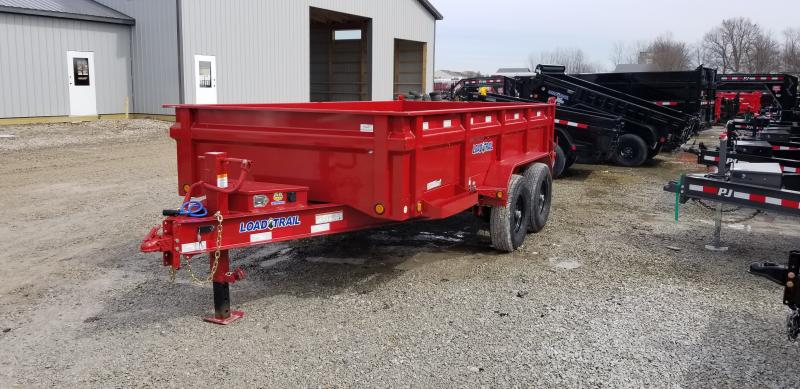 "2019 83x14 TA Load Trail 83"" X 14' Tandem Axle Dump Dump Trailer - 3-Way Gate - Scissor Hoist (GVW:  14000)"