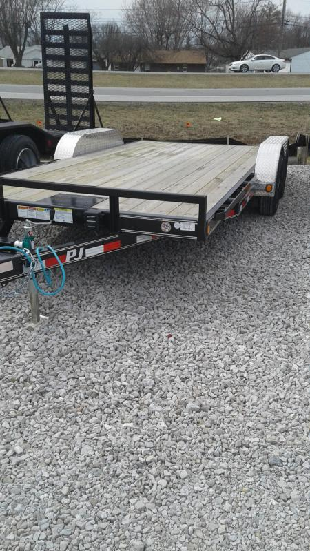 2019 83x18(16+2' Dovetail) PJ Trailers C5 5