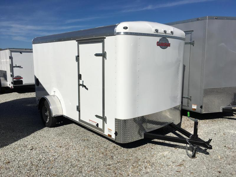 2019 6x12 Cargo Mate BL612SA Enclosed Cargo Trailer - Polar White (RD)(GVW: 2990)