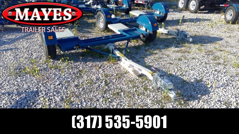 """2019 80"""" Wide Stehl ST80TD Tow Dolly - Swivel Base - Surge Brakes (GVW:  2999)"""