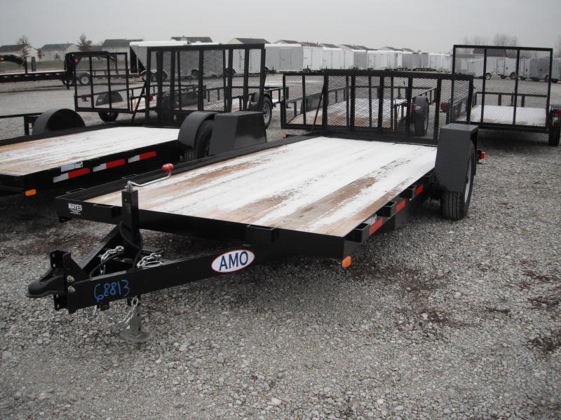 2015 82x16 American Manufacturing Operations AF16TT Car / Racing Trailer (GVW: 7000)