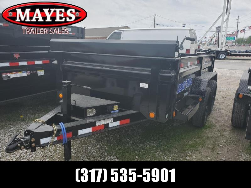 "2019 72""x12' TA Load Trail DT7212052 Dump Trailer-3-Way Gate - Scissor Hoist (GVW:  9990)"