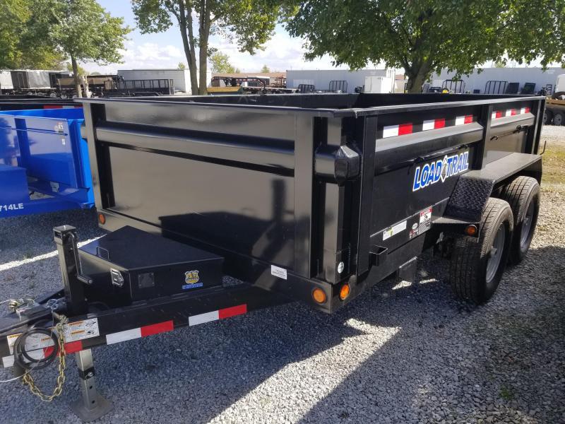 2017 83x12 Load Trail DT14 Dump Trailer - (Tarp Kit)(Ramps)(GVW: 14000)(Surge Brakes)