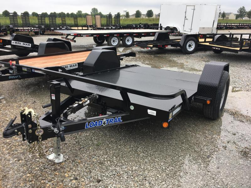 2017 77x10 Load Trail SA101 Equipment Tilt Trailer - (GVW: 7000)