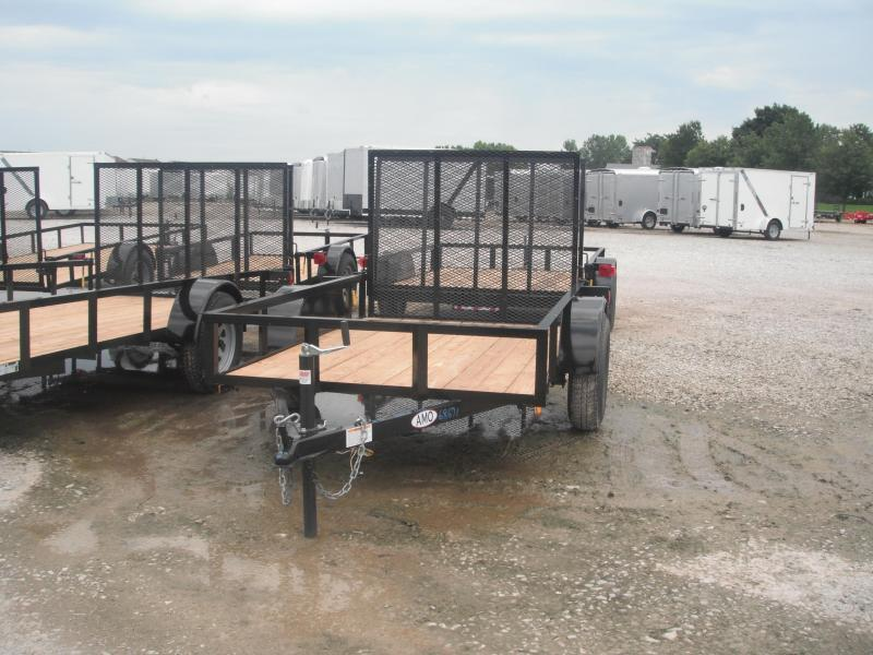 2017 5x8 American Manufacturing Operations A580GN Utility Trailer - 4' Gate (GVW: 2990)