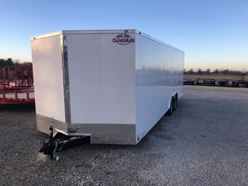 2019 102x24 Cargo Mate EHW8.524TA2 Enclosed Cargo Trailer - Ramp Door (GVW:  7000)