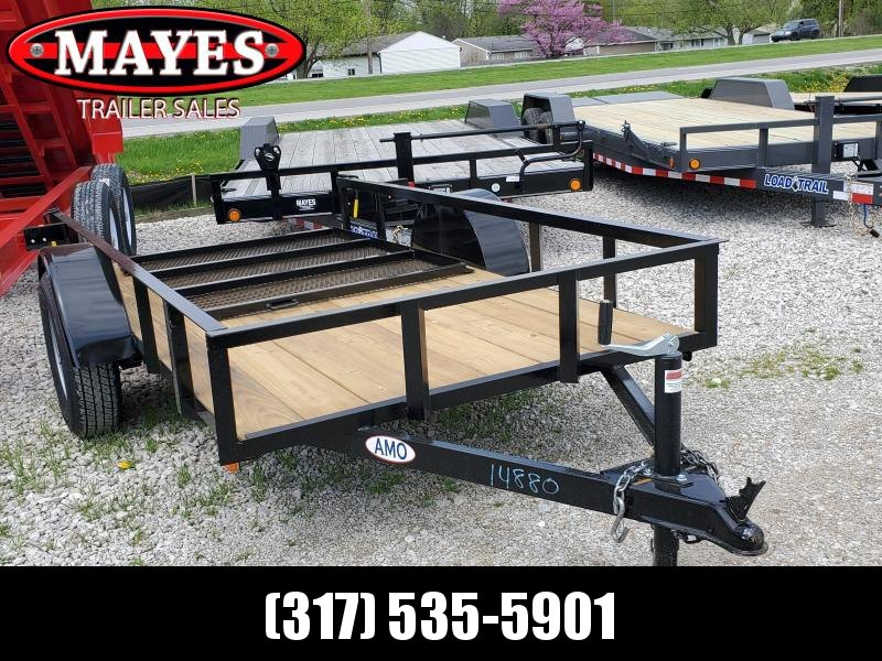 2019 5x10 SA American Manufacturing Operations (AMO)  US101 Utility Trailer - Tailgate (GVW:  2990)