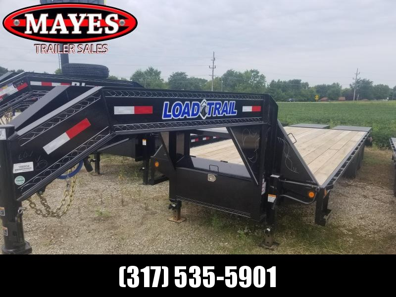 2019 102x28(23+5' Dovetail) Load Trail GH28 Flatbed Trailer - w/ Max Ramps (GVW: 24000)