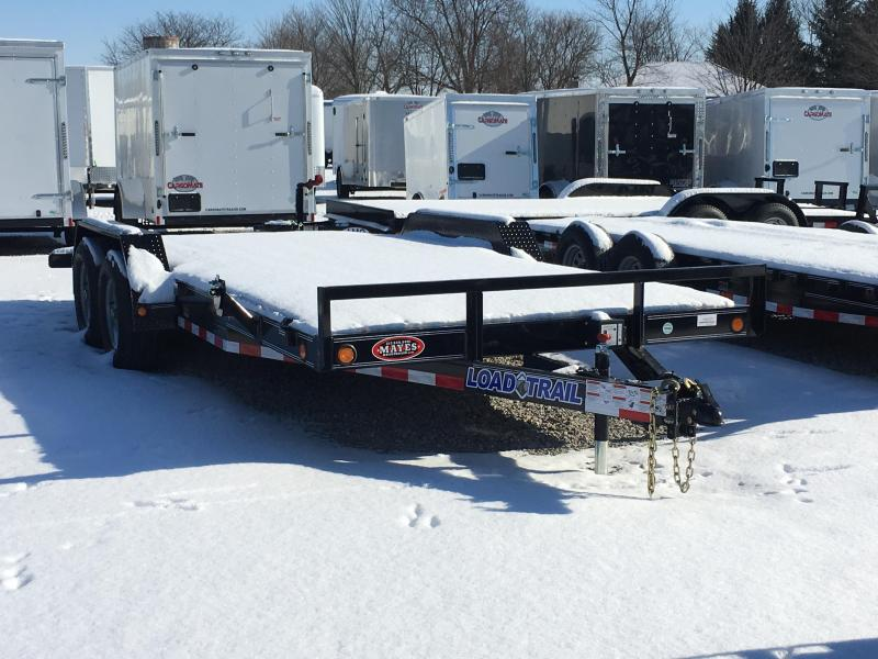 2018 83x18(16+2' Dovetail) Load Trail CH182 Car / Racing Trailer - w/ Rear Slide-in Ramps (GVW: 9990)
