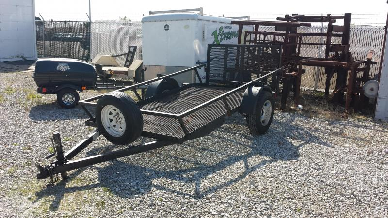 2002 5x10 Other Used Utility Trailer - Single Axle Mesh Floor ** USED **