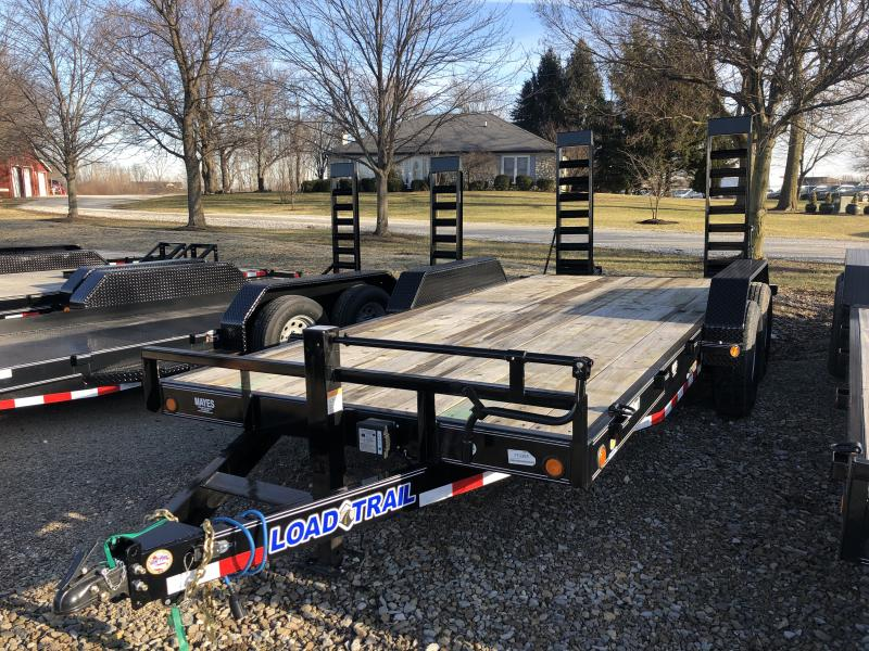 2019 83x18 (16+2) Load Trail CH8318072 Car / Racing Trailer - Fold Up Ramps (GVW:  14000)
