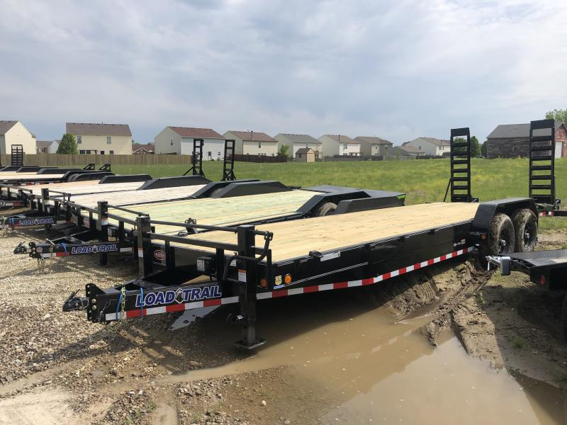 2019 83x24(22' + 2' Dovetail) Load Trail Equipment Hauler - w/ 5' Fold-up Ramps (GVW: 14000)
