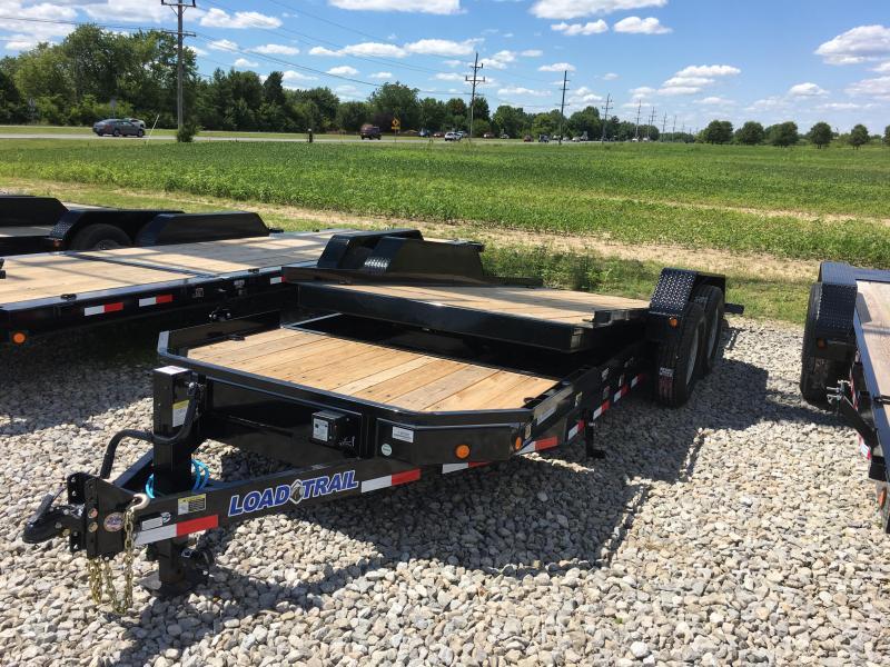 2017 83x20(16' Tilt + 4' Stationary) Load Trail TD202 Equipment Trailer - (GVW: 14000)