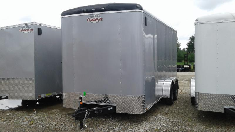 2020 7x14 TA Cargo Mate BL716TA2 Enclosed Cargo Trailer - Ramp Door - 12 Inch Additional Height (GVW:  7000)
