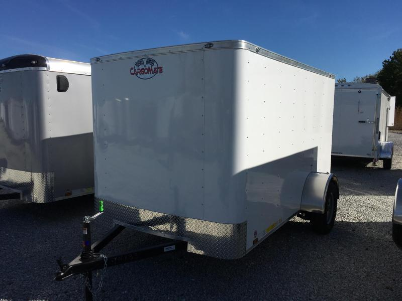 2019 6x10 Cargo Mate SS610SA Enclosed Cargo Trailer - Polar White (RD)(GVW: 2990)