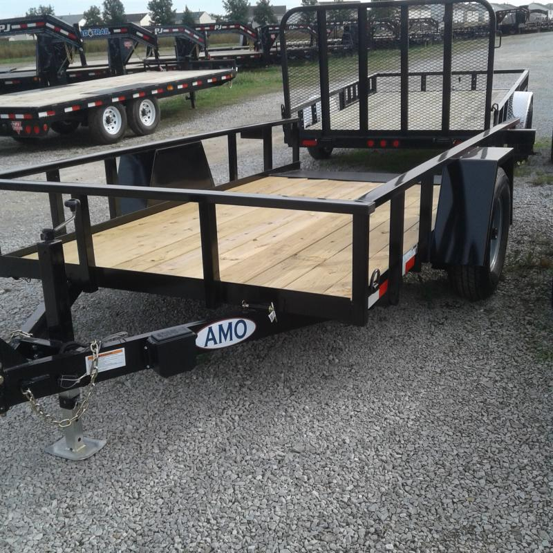 2019 76x12 American Manufacturing Operations A612TNSC Tilt Trailer (GVW: 7000)