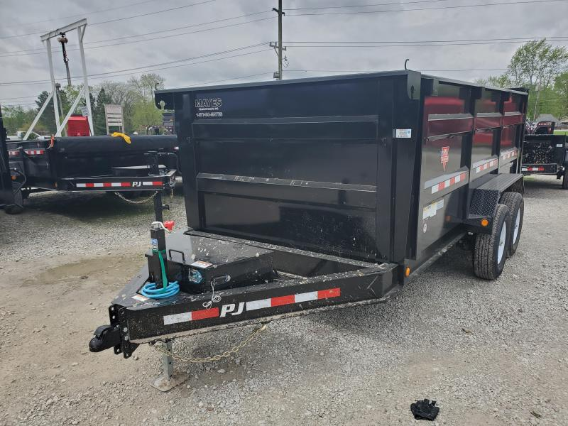 2020 83x14 Low Pro High Side TA PJ Trailers