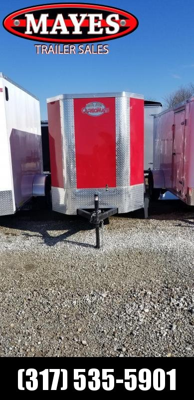 2019 5x10 SA Cargo Mate EHW510SA Enclosed Cargo Trailer - Ramp Door0
